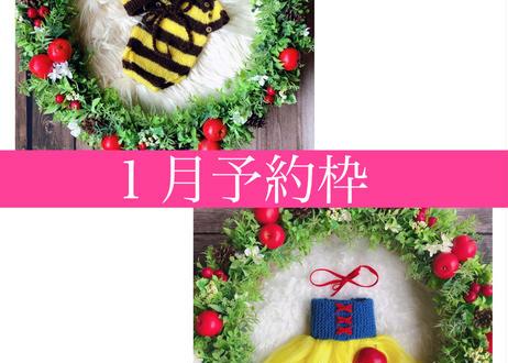 「予約購入」1月予定日・白雪姫風リース2泊3日レンタルセット