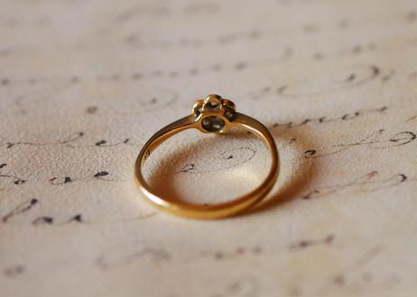 RESERVED 予約済 18ct アンティークリング 指輪 18金 リング イギリス