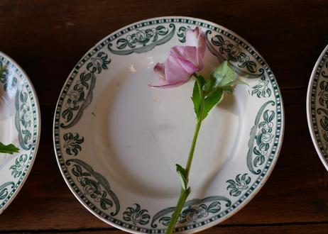 antique plate, Longchamp