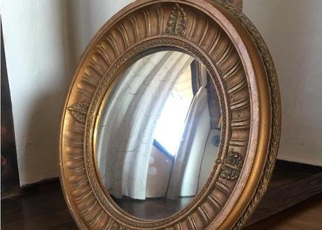 仏アンティーク ミラー 鏡
