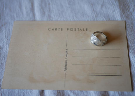 Spoon Ring 【Cat】with Post card
