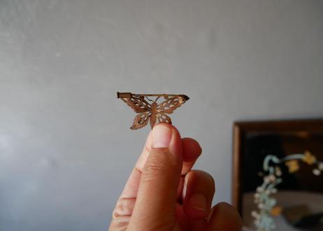 フランスアンティーク アンティークブローチ Butterfly