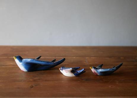陶器のツバメ 壁掛け オブジェ フランスアンティーク ブロカント