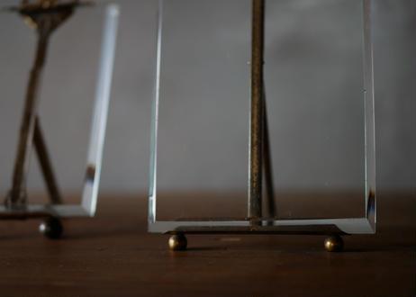硝子の写真立て フランスアンティーク Medium