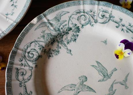 """GIEN  """"Marie-Antoinette"""" plate"""