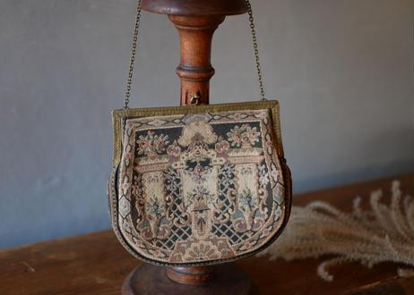 プチポワン ドレスバッグ イヴニングバッグ アンティークバッグ タペストリー