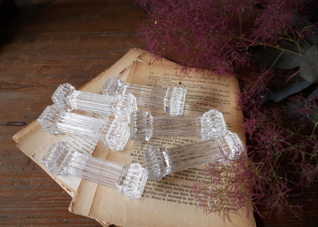 ガラスのナイフレスト