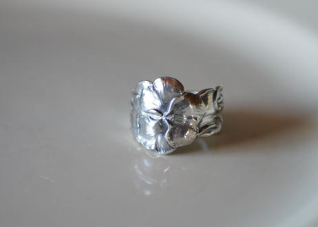 Spoon Ring 【Pansy】