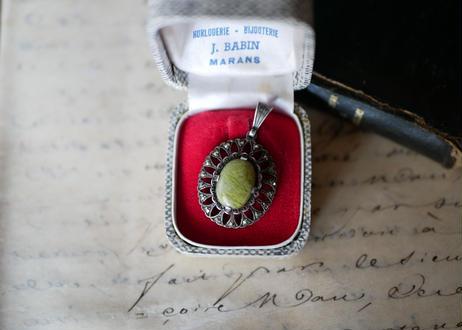 マーカサイト マルカジット ペンダントトップ FRANCE antique BROCANTE vintage