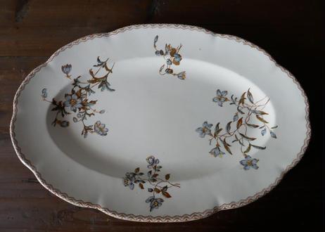 綺麗な大皿 フランスアンティーク SALINS