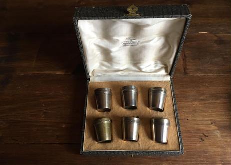 フランスアンティーク  銀食器 リキュールカップ