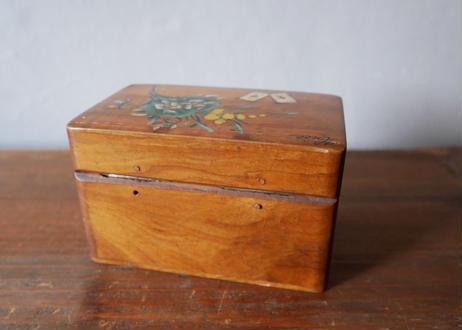 ミモザのトランプボックス  フランスアンティーク