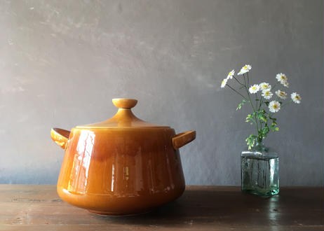 フランス アンティーク 鍋 スープ  ロンシャン