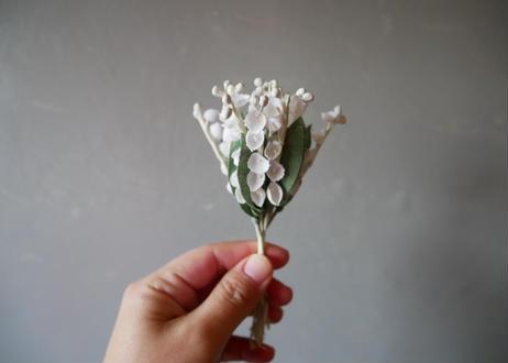 ★すずらん 布花 コサージュ フランスアンティーク