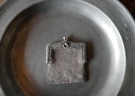 french antique ボタニカル シャトレーン コインケース コインパース