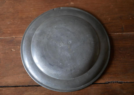 C pewter plate