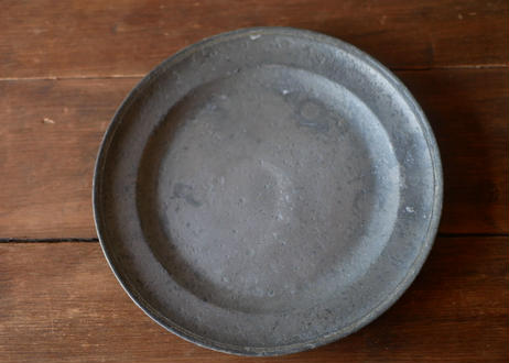 B pewter plate