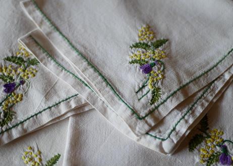 mimosa serviettes