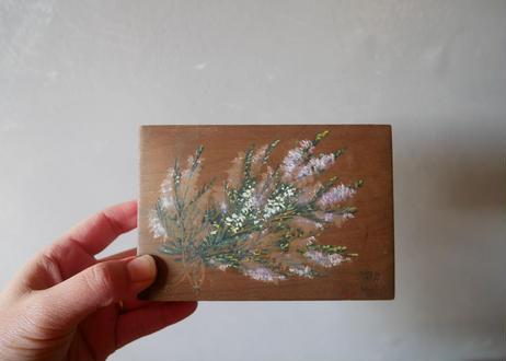 フランスアンティーク モシュリンヌ 木箱 lavender