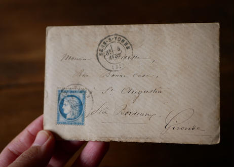 #1 Old french Letter