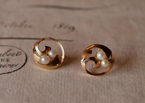 18k,  earrings  FRANCE