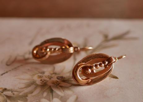 FE-01 フランス antique earrings アンティークイヤリング