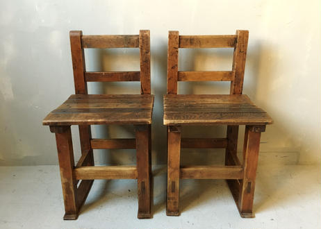 学校机と椅子2脚(セット)S-90