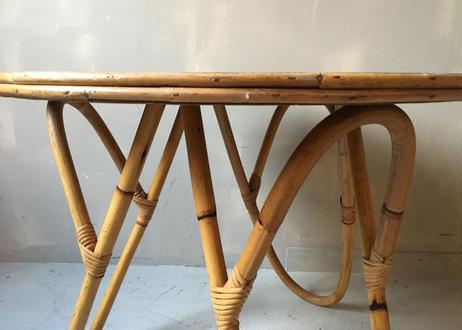 ラタン サイドテーブル