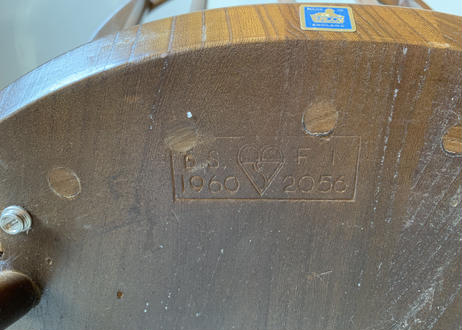 ERCOL アーコール スモーカーズ(カウホーン)チェア S-132