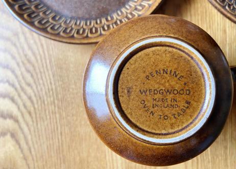 WEDGWOOD ウェッジウッド [Pennine] カップ&ソーサー S-271