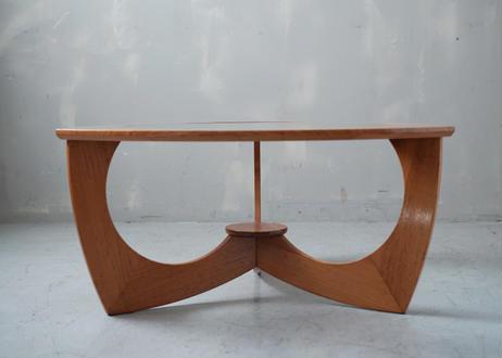 ガラストップ コーヒーテーブル S-361