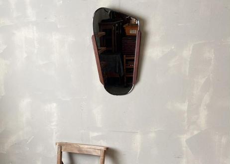 チークフレーム ウォールミラー S-437
