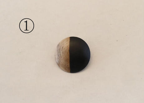黒柿のブローチ<1>①~③