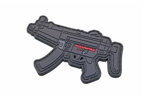 MP5 PVC ベルクロワッペン