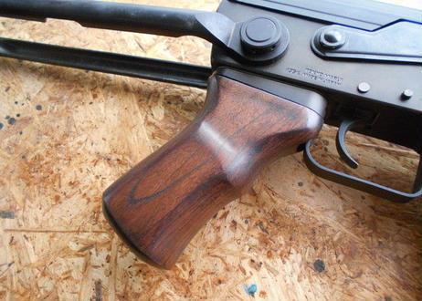 受注 次世代AK47・スタンダードAK47シリーズ用タクティカルウッドグリップ製作