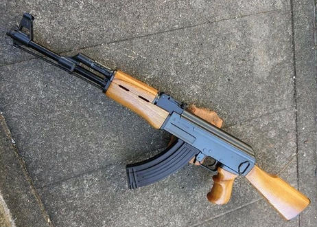 受注 マルイ スタンダードAK47シリーズ用ノーマルハンドガード製作
