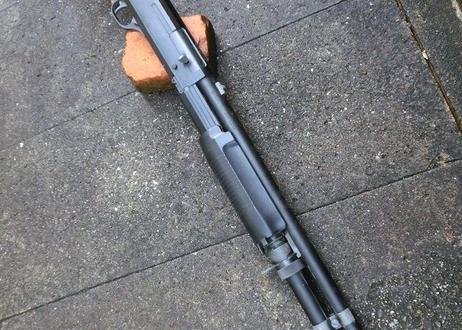 受注マルイ M3用 ソードオフグリップ製作