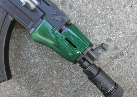 受注 AK47βスペツナズ・AK47HC用クリンコフタイプウッドハンドガード製作