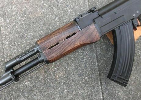 受注 マルイ次世代AK47・AKS47用 ウッドハンドガード製作