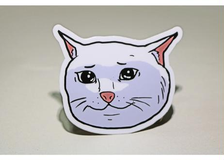 Marp SAD CATTE sticker