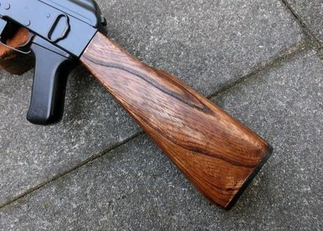 受注 マルイ スタンダードAK47シリーズ用 ウッドストック製作