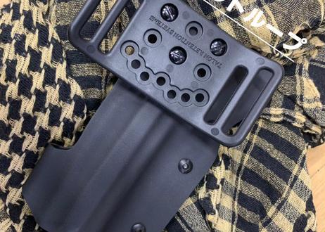 タナカ S&W M327 M&P R8 5インチ w/XC-1タイプライト用Kydex®ホルスター BK