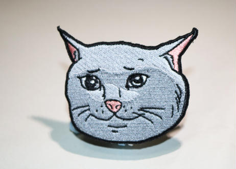 Marp SAD CATTE velcro patch