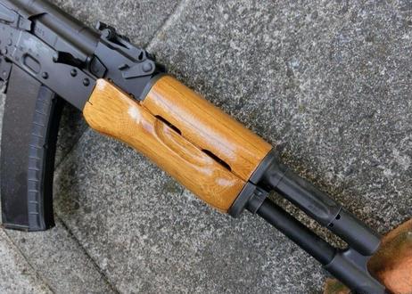 受注 次世代AKS74Nウッドハンドガード製作(ふくらみのあるタイプ)