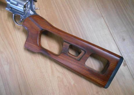 受注 タナカM500用ウッドストック製作