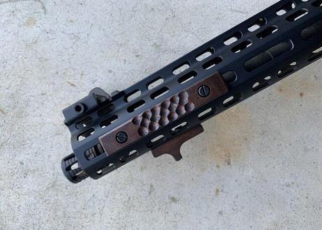 """在庫品 M-lok Wood Panel """"Range"""""""