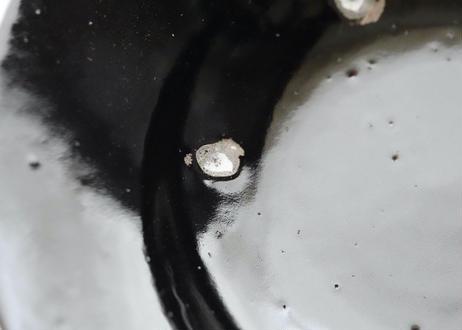 園13 : スープ皿  鉄黒