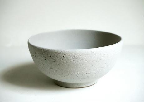 MN01 : bowl / L     white gray pink