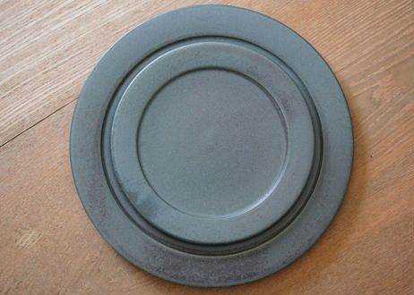 安01 : リム皿 5寸 NAVY