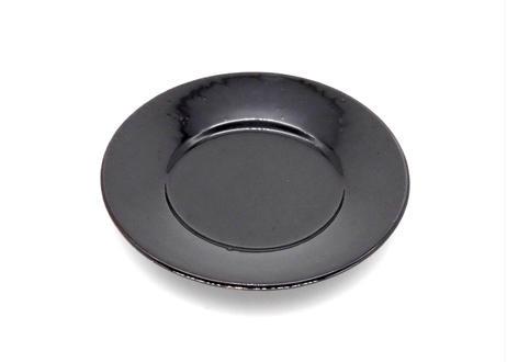 園05 : リム皿 鉄黒 小